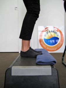 Calf Raise Exercise for Plantar Fascia
