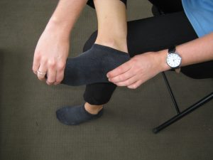 Toe Mobilisation for plantarfascia