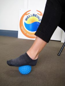 Trigger point ball plantarfascia