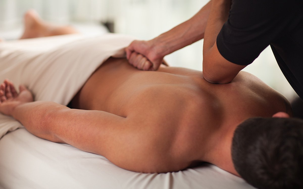 Deep Tissue Massage Treatment Wellbeing Health